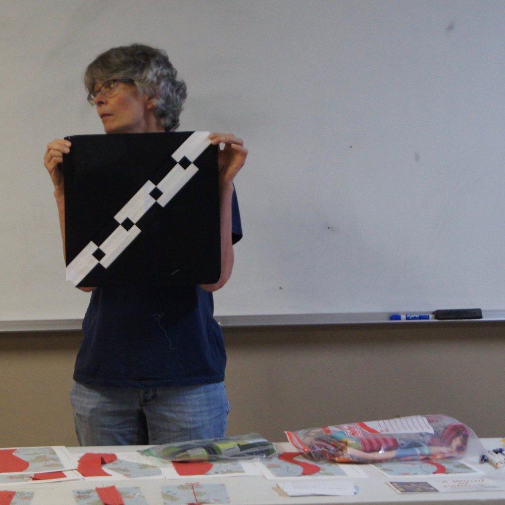 Quilt block by Audrey Workman