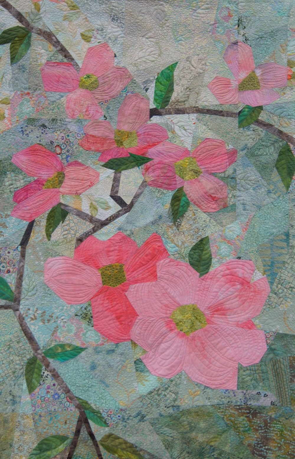 Pink Dogwood by Mary Keasler