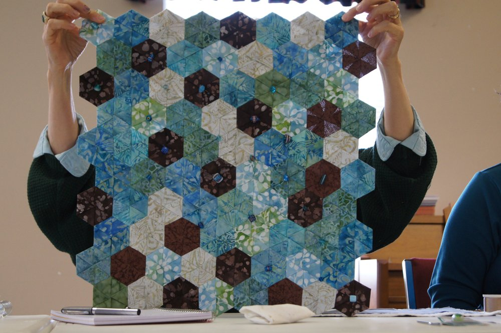 Hexies by Theresa Kitchell