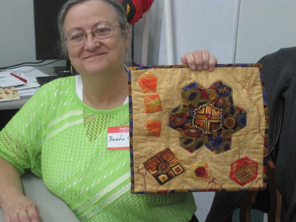 Small quilt by Brenda