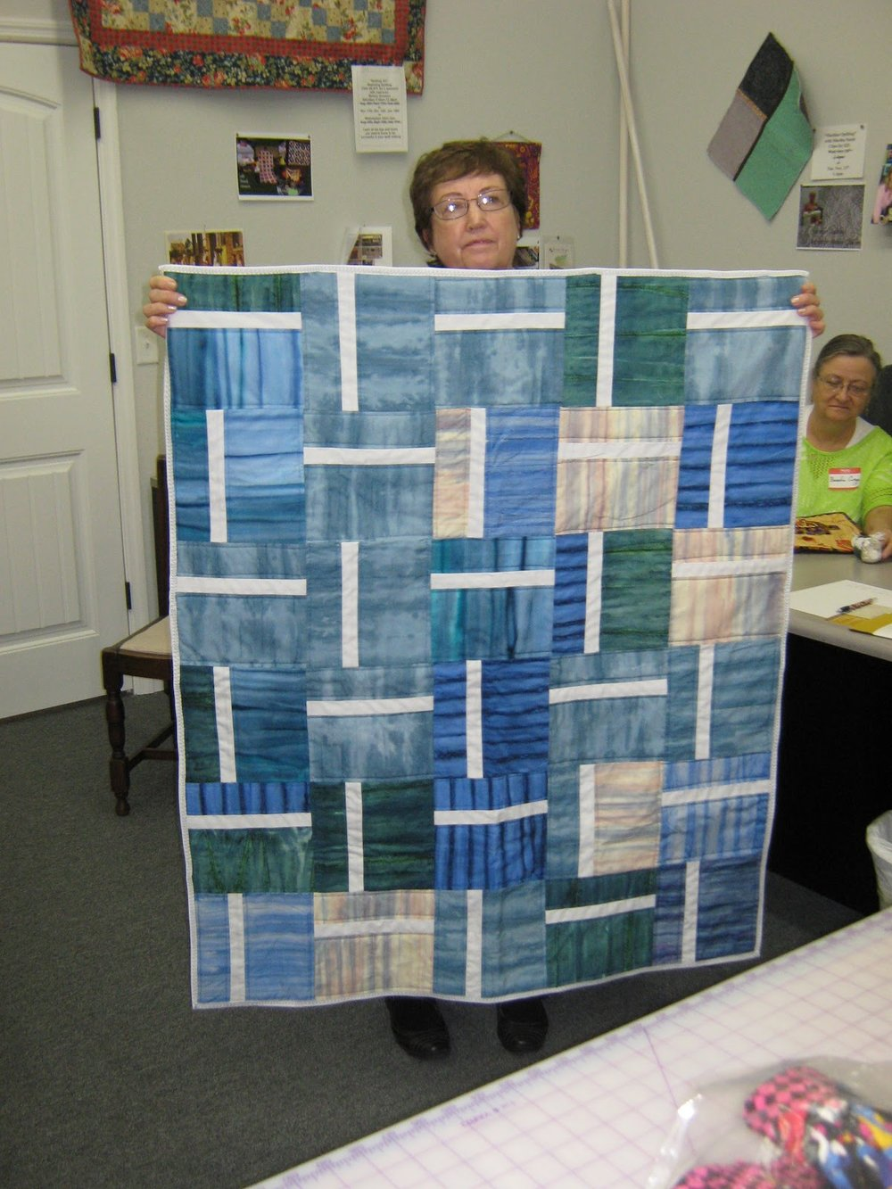 Baby quilt by Joan Thornbury