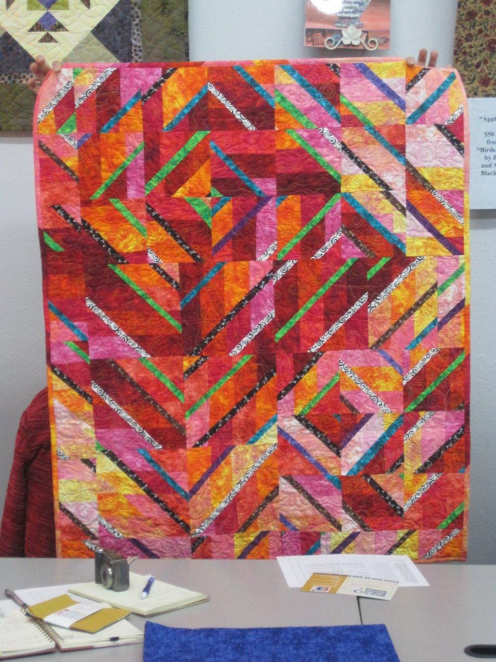 Quilt by Veronica Hofman-Ortega