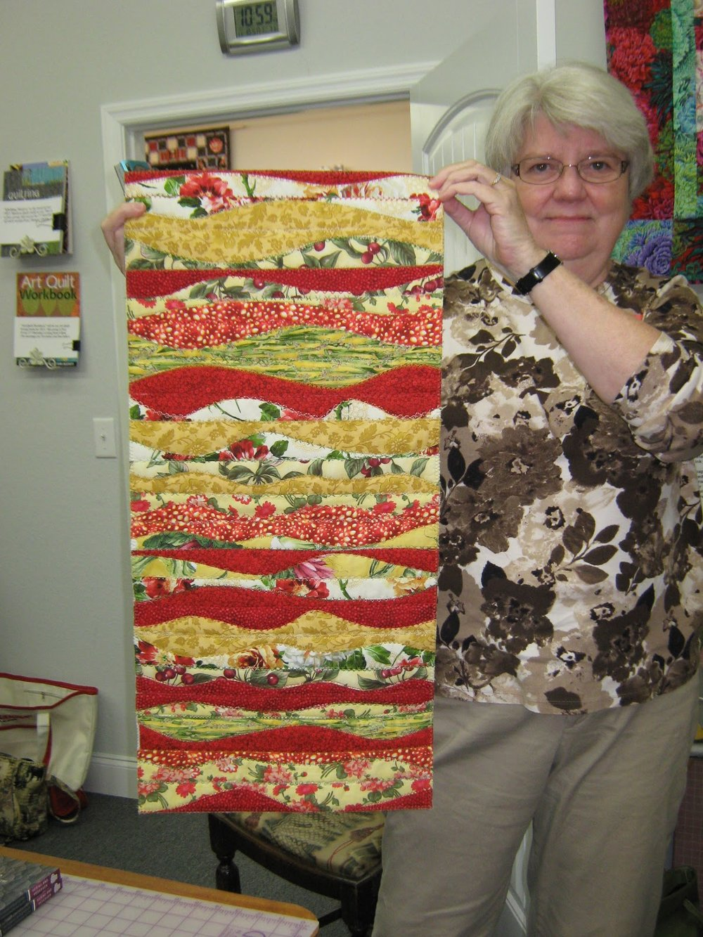 Table runner by Jean Larson