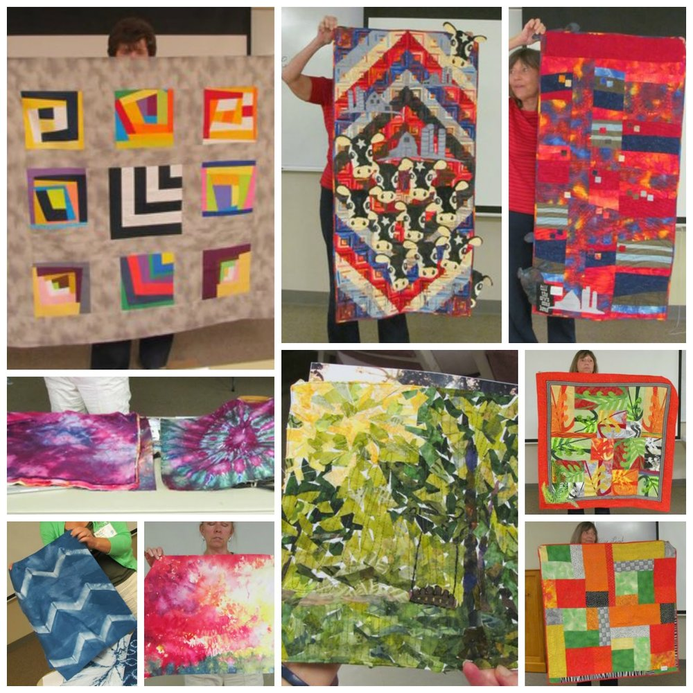 Quilts by Kate Trundle, Marcia Taschenberger, Susan Asendorf, and Joan Thornbury