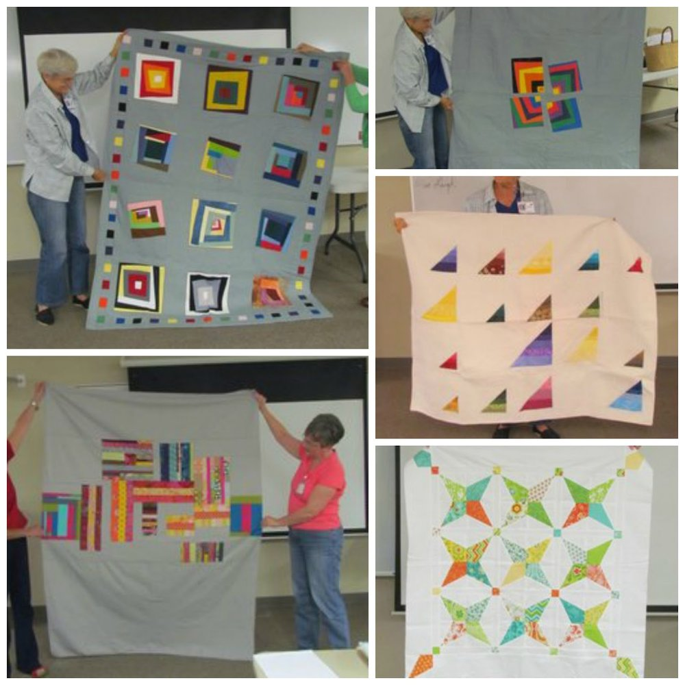 Quilts by Martha Griffin and Patricia Steadman