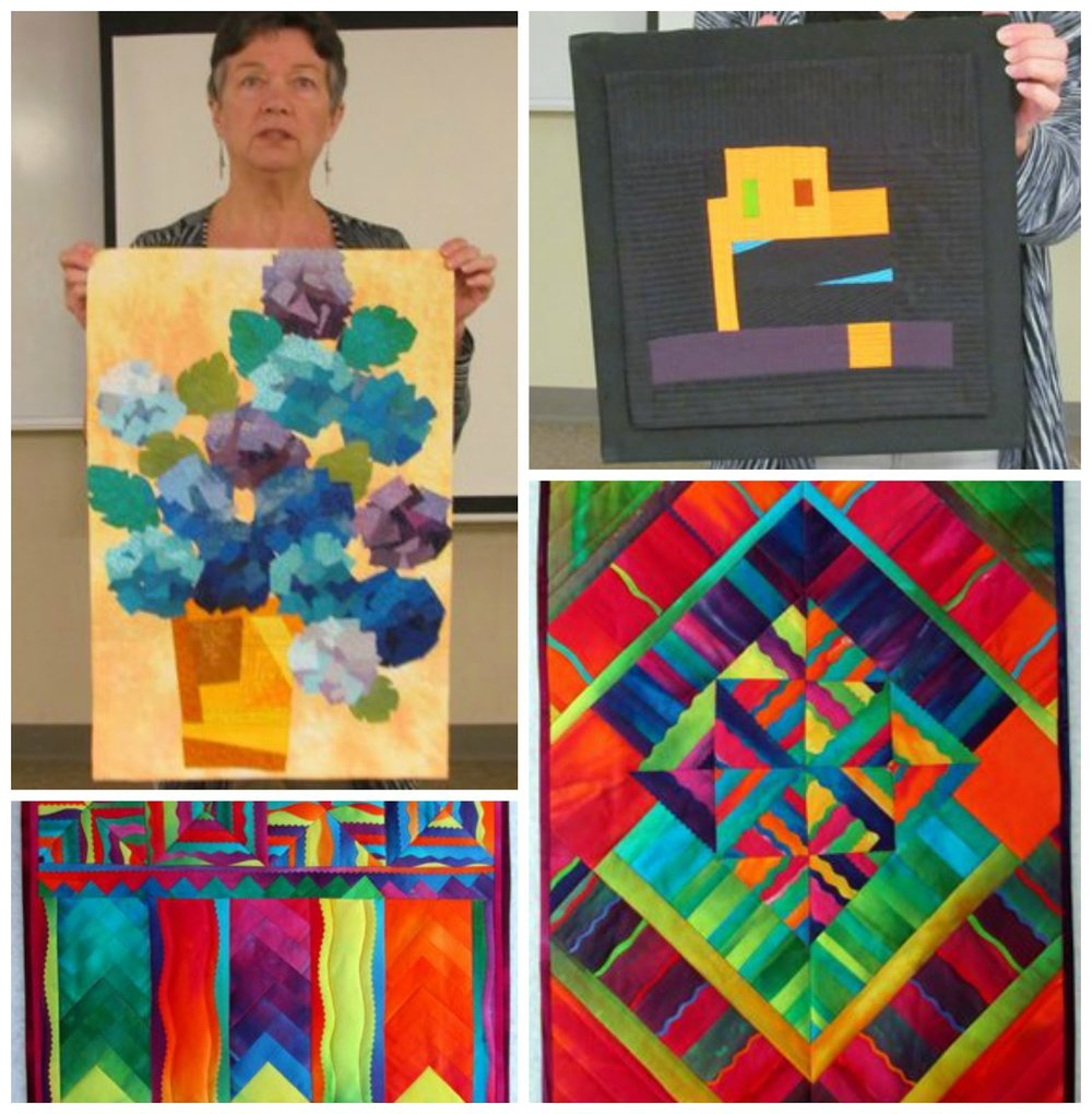 Quilts by Mary Keasler and Melody Johnson