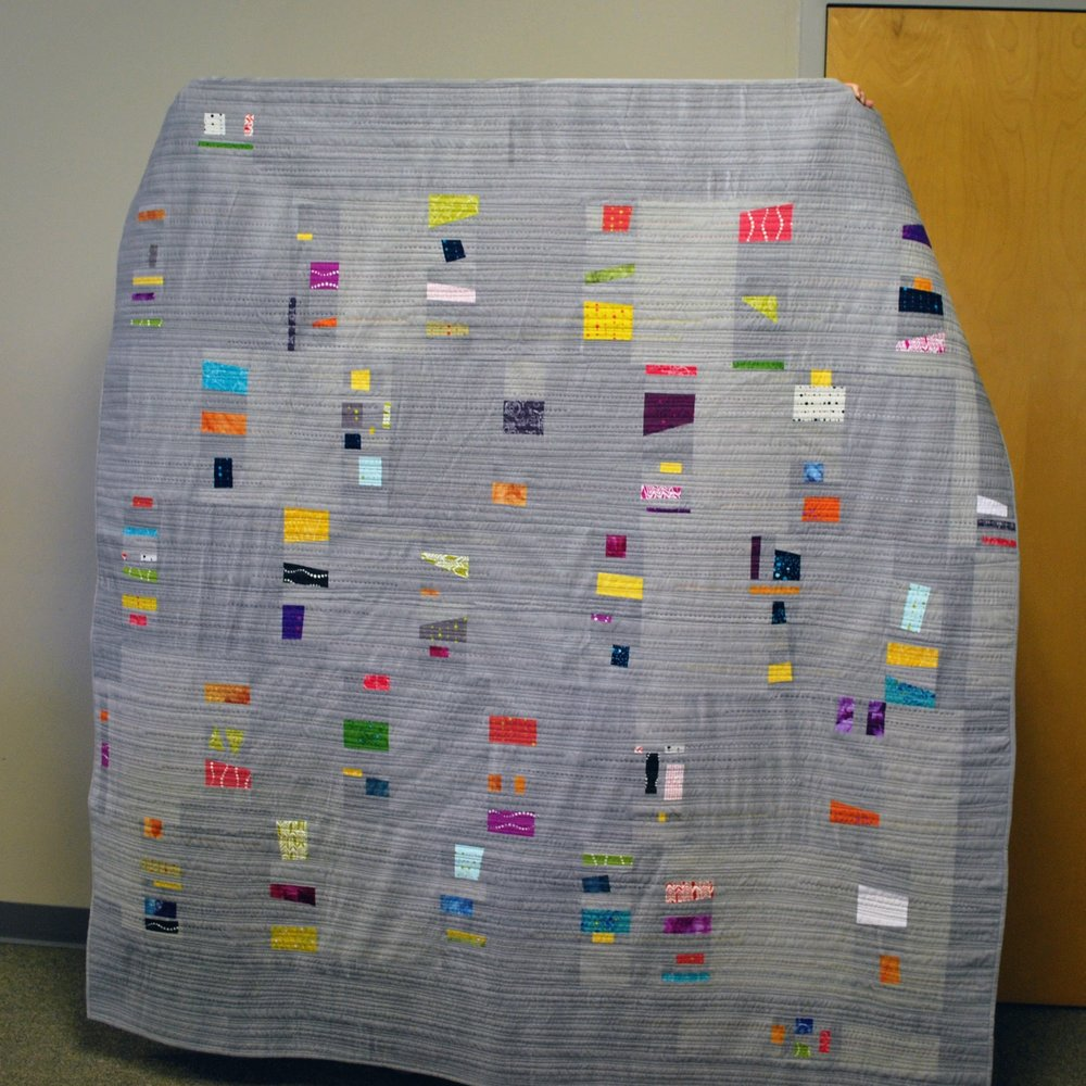 Quilt by Sara Bradshaw, based on Alison Glass' Swatch pattern