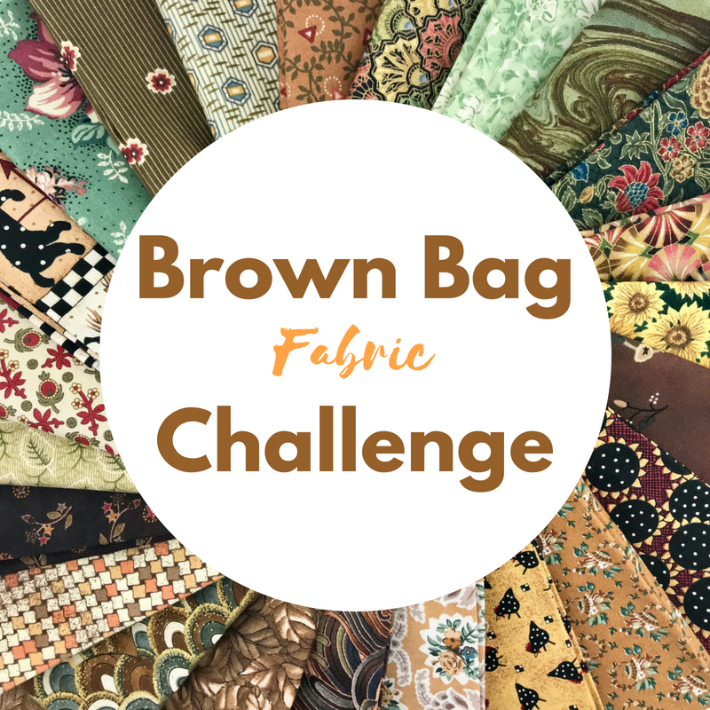 Brown Bag Fabric Challenge