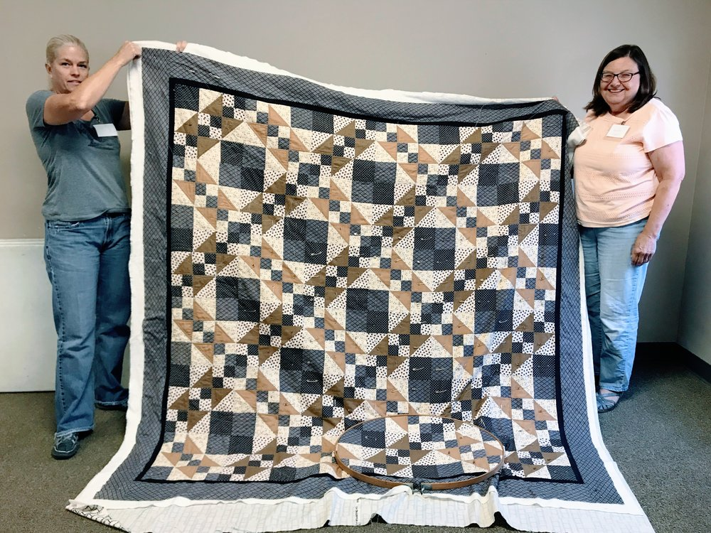 Quilt by Jennifer Cooper (right)