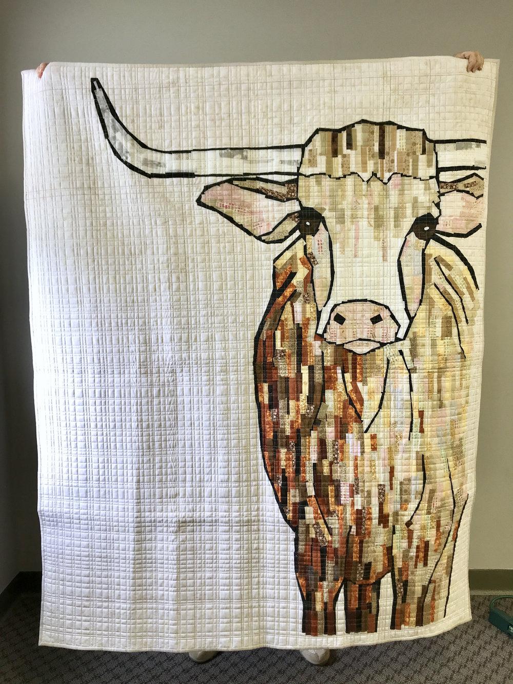 Quilt by Sara Bradshaw, pattern by Laura Heine