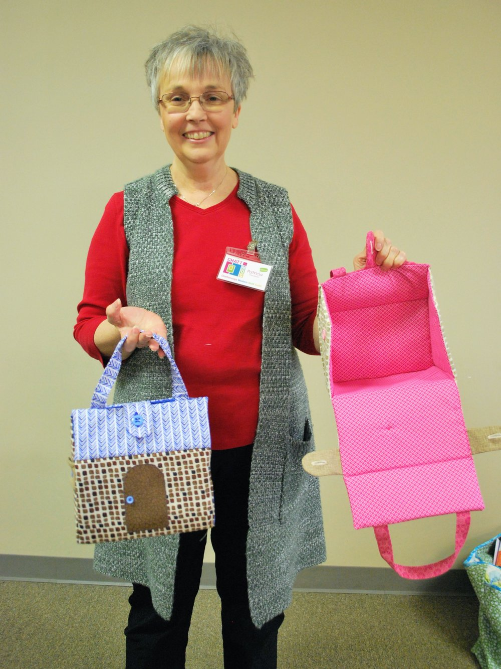 """Patricia's """"House"""" Bags"""