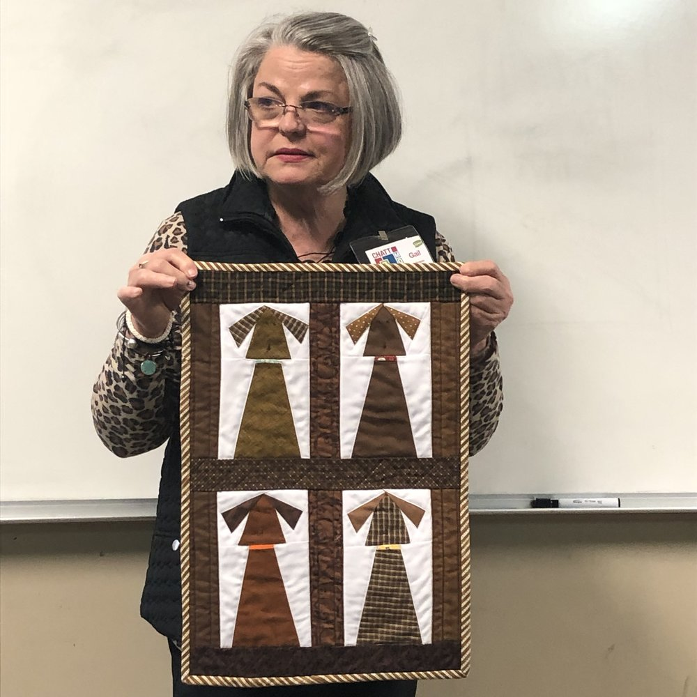 Gail's Brown Mini Quilt #3