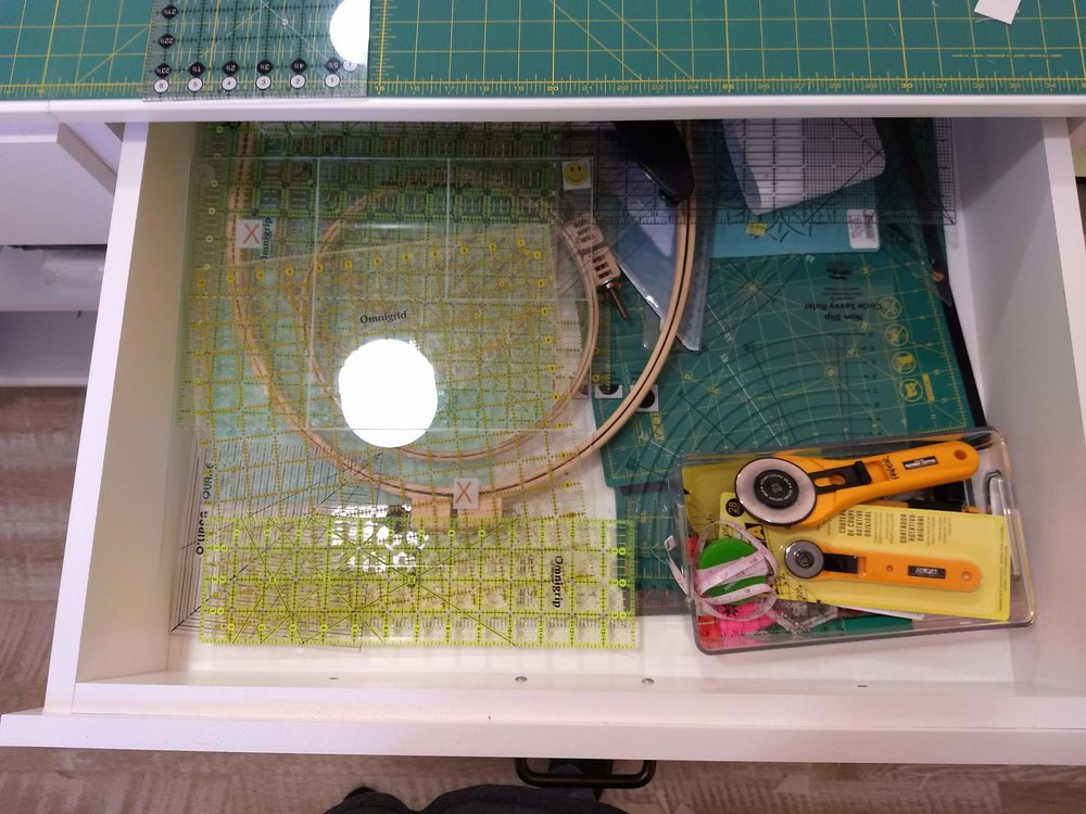 Quilting Tools Drawer