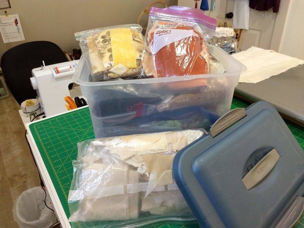 Sterilite Fabric Storage