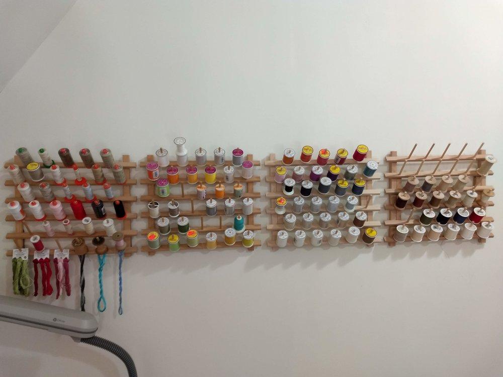 Thread Storage Racks