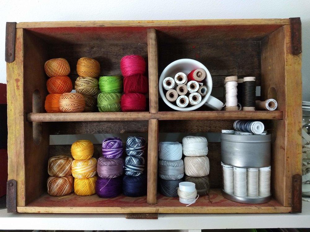 Wooden Crate Display