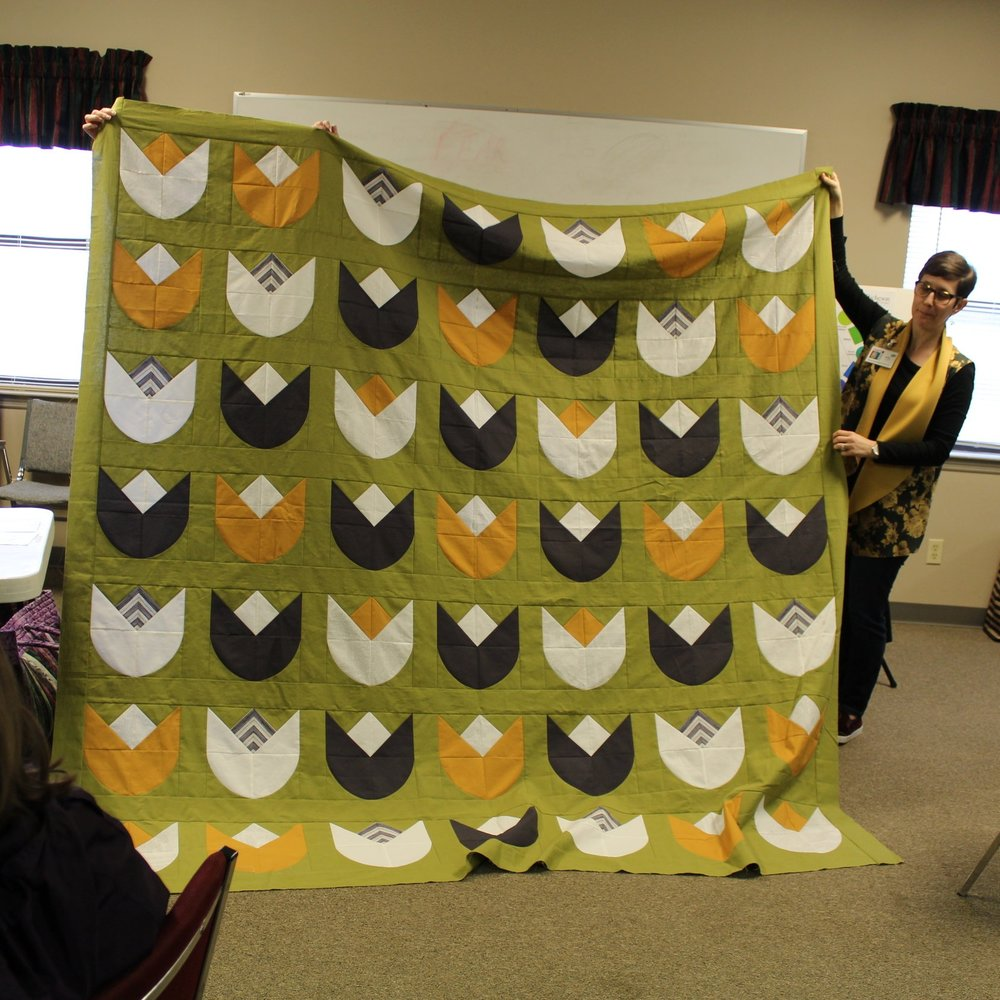 Kelly's Tulip Love Quilt