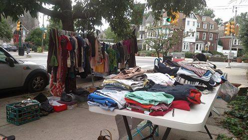 Yard Sale in West Philly