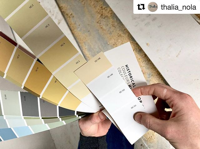 Thalia is opening so soon!! @chefkkessig and I need your help with final selections for the interior color.  This restaurant is for the neighbors! So come on over and give us your vote on color!! Follow @thalia_nola for updates ☝️ Repost from @thalia_nola  Y'all! We are moving right along....interior painting starts soon!! These are the hands of @la_ferrand of @ferranddesign. We're trying to pick a yellow that is inspired by the original yellow that was in the space (see the background in the second picture). Thoughts? We'll let you know when samples go up and you can stop by and see them in person! #thalia #comingsoon #lowergardendistrict #HC5 #nolaeats