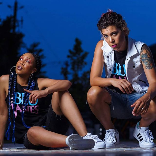 """I want us to be the voice of this generation."" @Truemedia reveals what sets this duo apart from the rest! #onetruevoice https://onetruevoiceonline.com/2018/06/positive-hip-hop-duo-the-blu-janes-to-perform-at-columbus-pride/ 📸 @adigitalvision"