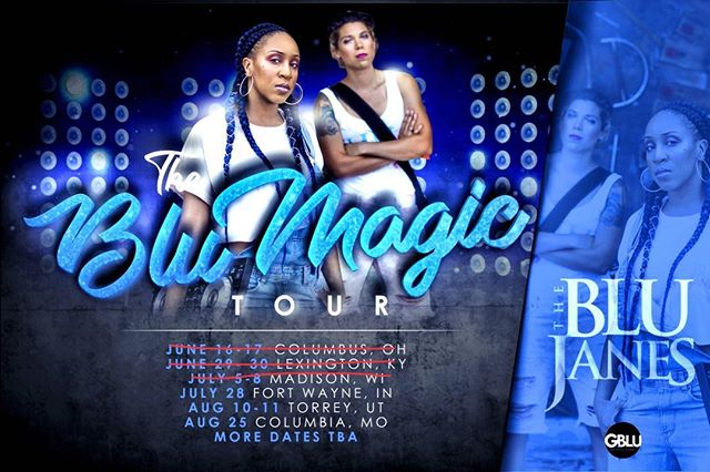 So far so good. Next stop #FortWayne #Indiana ! #Blumagictour #theblujanes