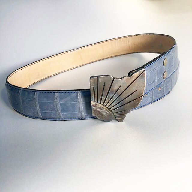 The belt is finally finished! I know you guys have been following the progress through the stories so I will post the process in the story history for a view of how this belt was made step by step.