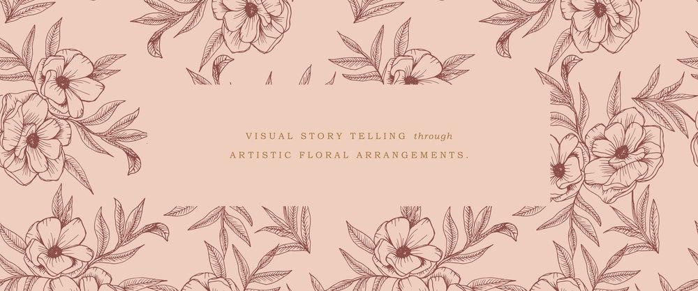 Canopy Floral and Botanic Custom Brand Design by Viola Hill Studio