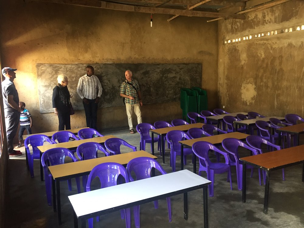 An existing classroom