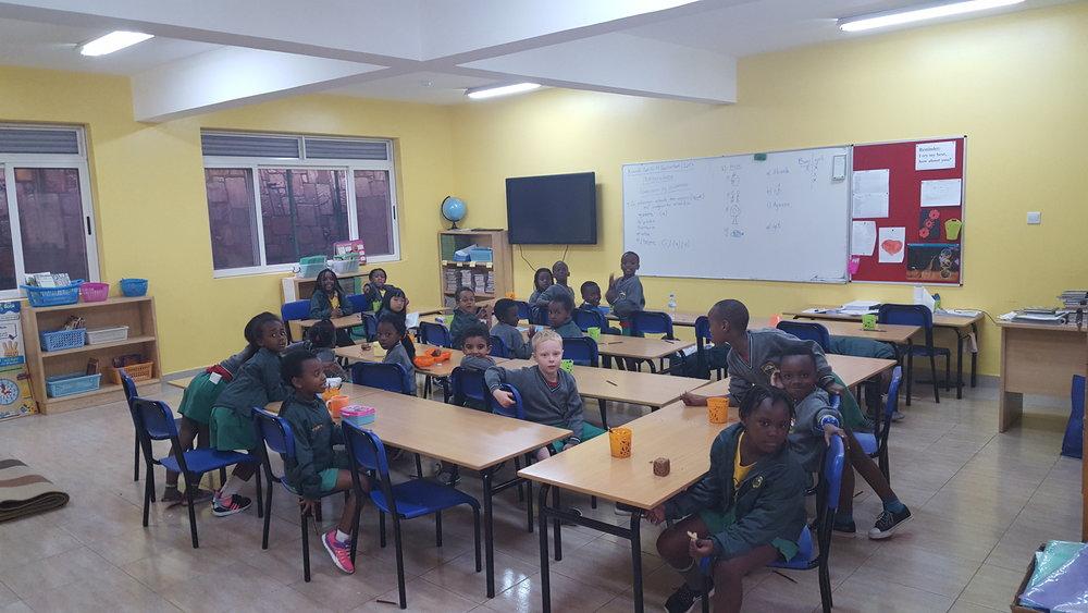 New Primary - classroom