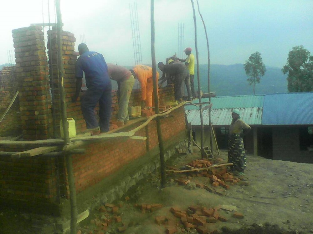 Construction underway