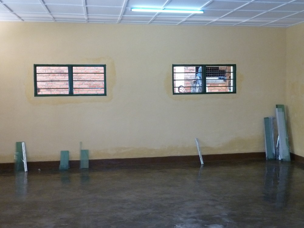 Finished class interior