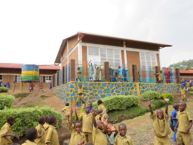 Rear Elevation - Finished Nursery School