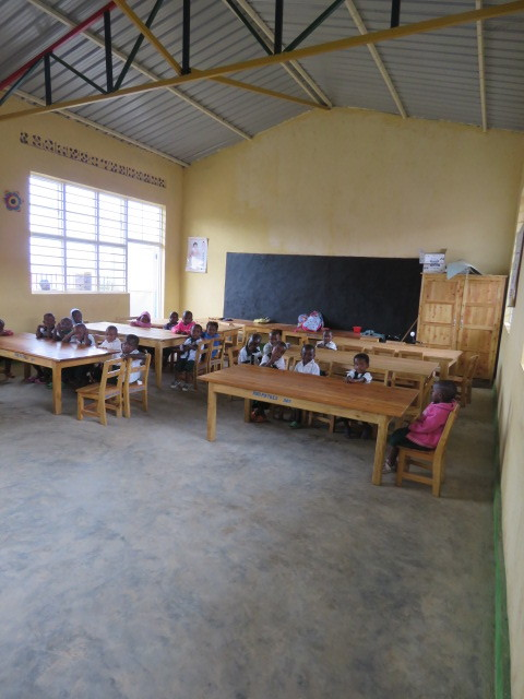 Inside the new classroom