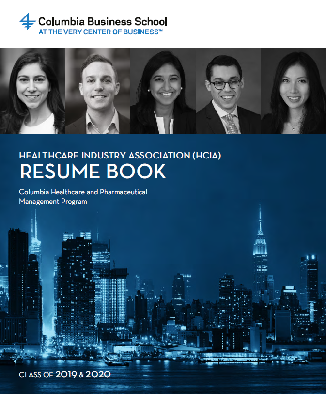 2019 HCIA Resume Book - Click here to view the resume book