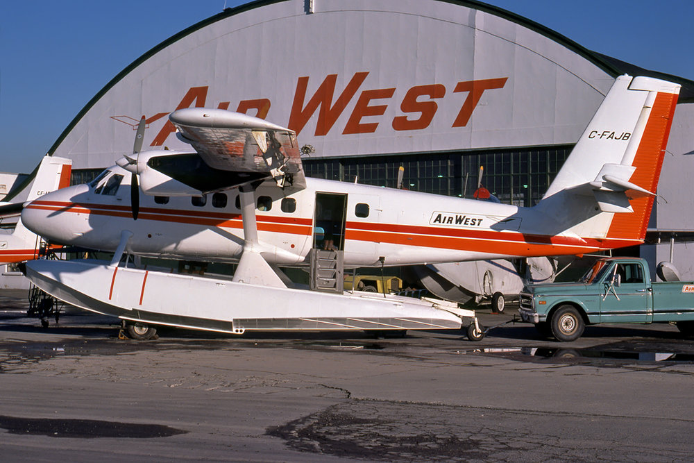 Kenneth I. Swartz/Aeromedia Communications Photo © Vancouver, BC 31-Dec-1975