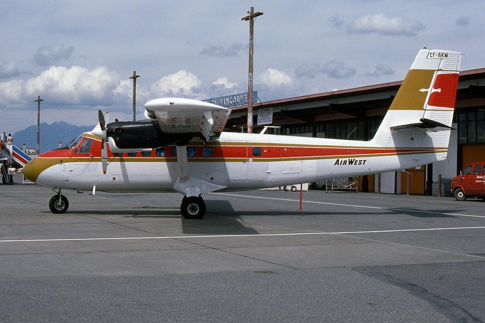 Kenneth I. Swartz/Aeromedia Communications Photo © Vancouver, BC 12-May-1977