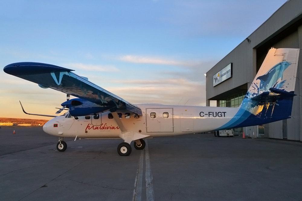 MSN 382 DHC-6-300 C-FUGT Calgary-Int'l, AB 07-Dec-2017