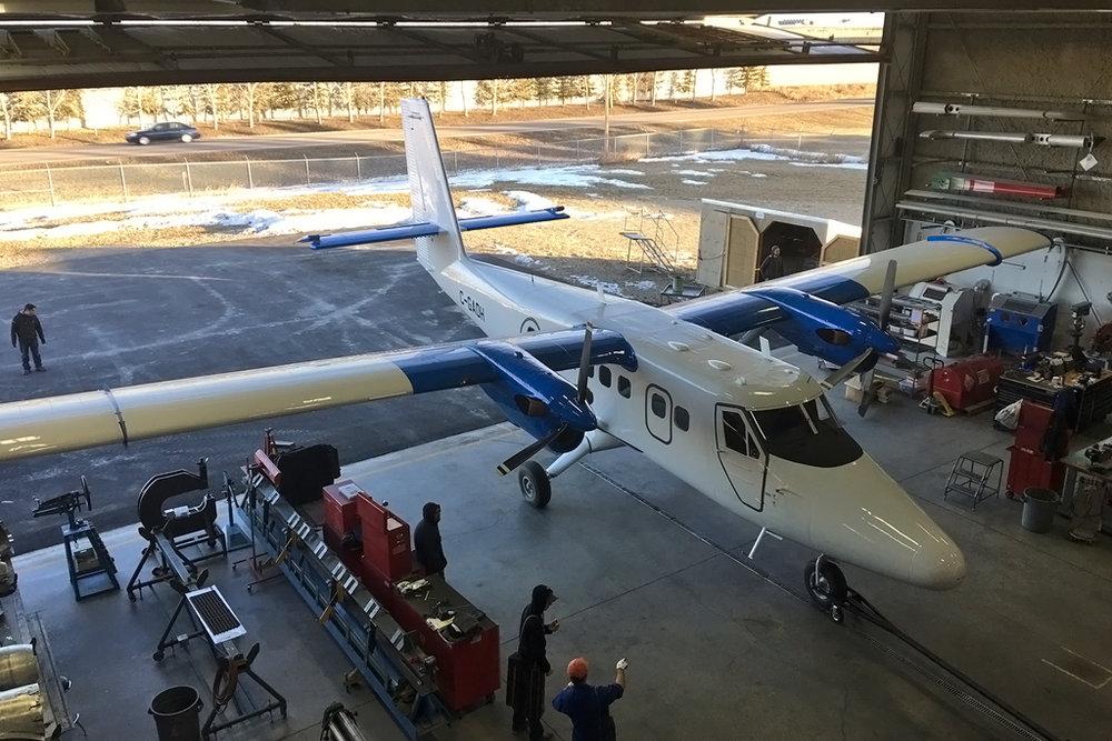 MSN 623 - DHC-6-300 C-GADH Airdrie, AB Dec-2017