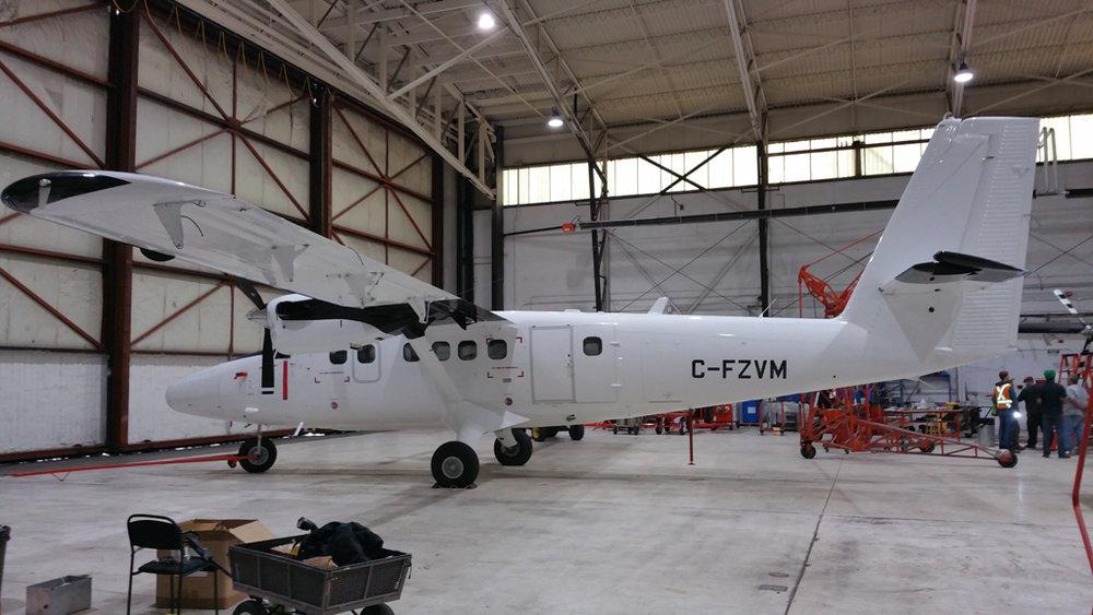 959 - DHC-6-400 C-FZVM Calgary-Int'l, AB 29-Jan-2018