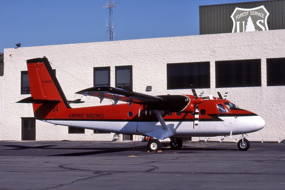 Fred J. Barnes Photo © Redding, CA 05-Aug-1990