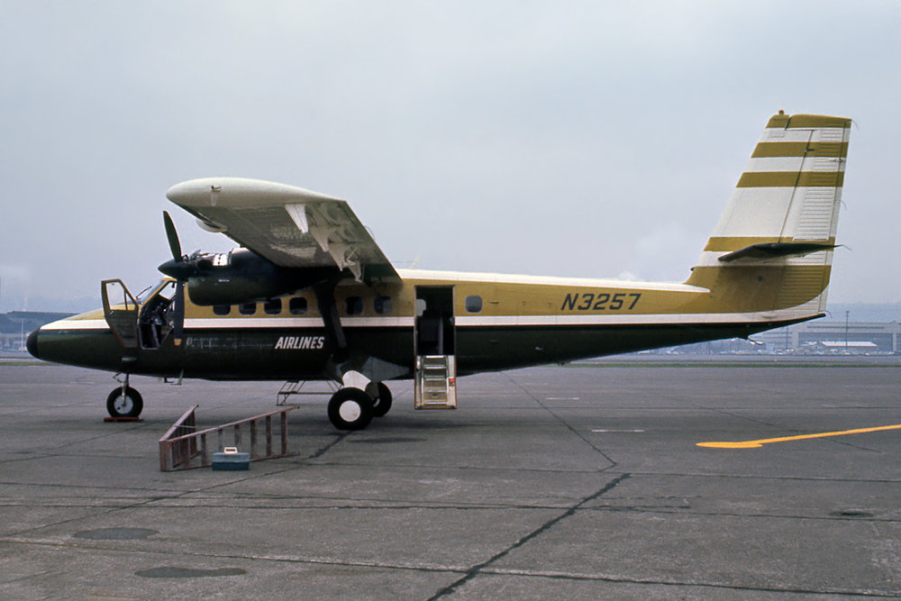 J. Morrow Photo © Seattle-Boeing Field, WA 28-Jan-1971