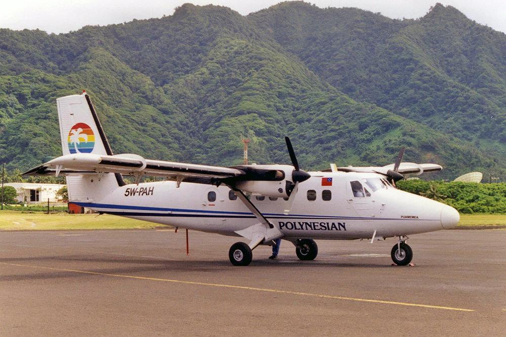 Aeromoe Photo © Pago Pago 27-Sep-1997