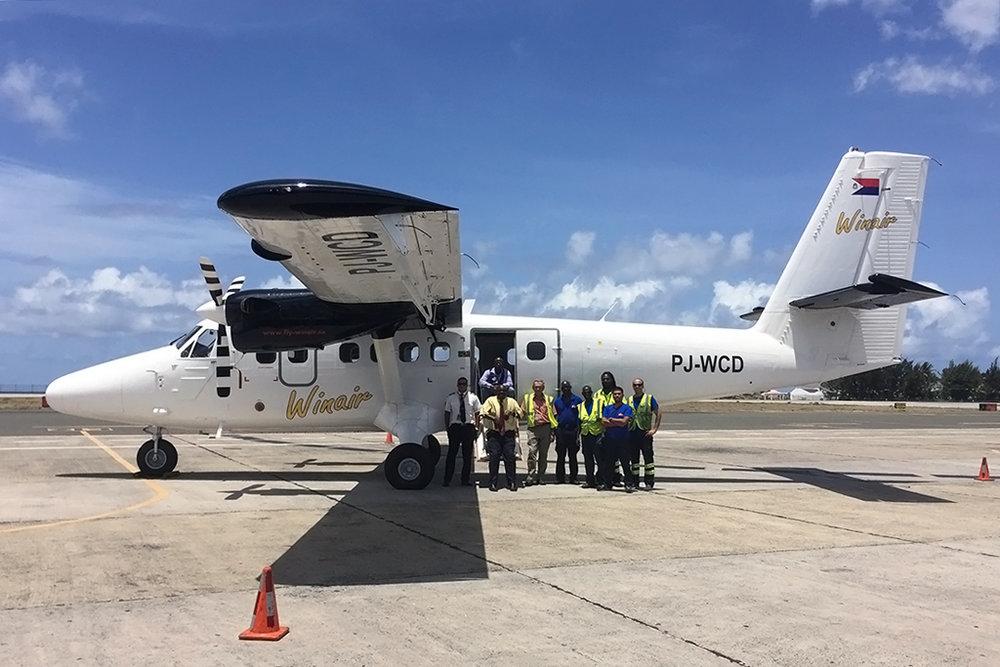 Winair Photo © Saint Maarten 10-Jun-2016