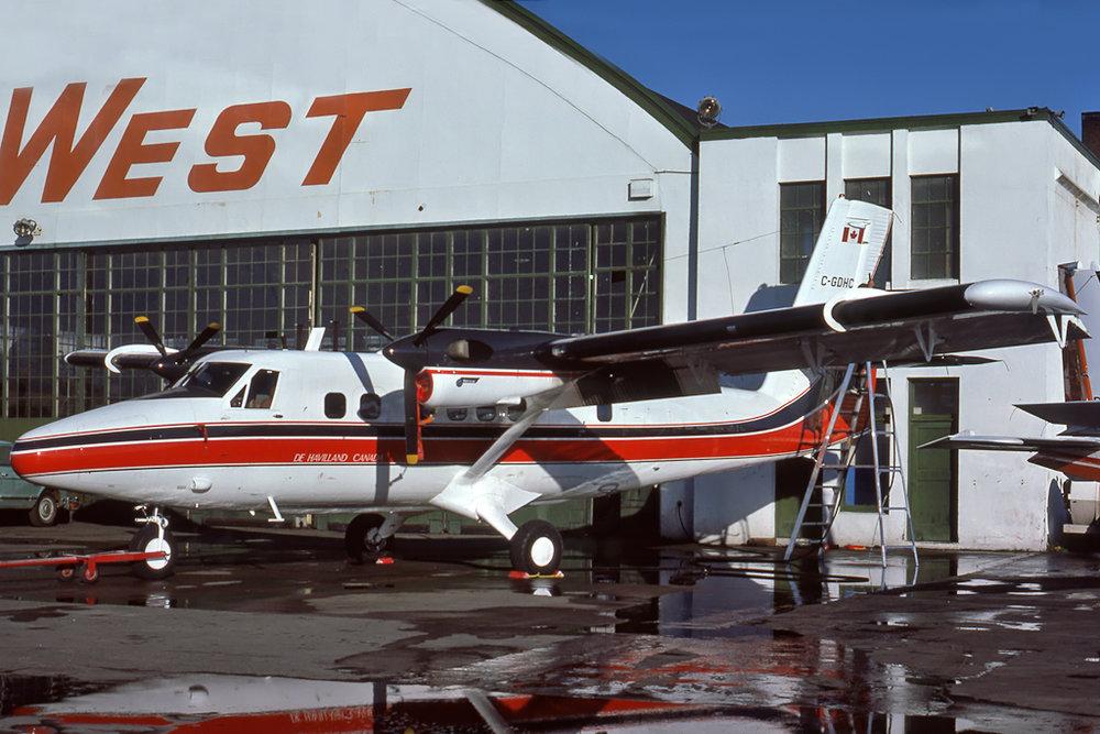 Kenneth I. Swartz/Aeromedia Communications Photo © Vancouver, BC Oxt-1976