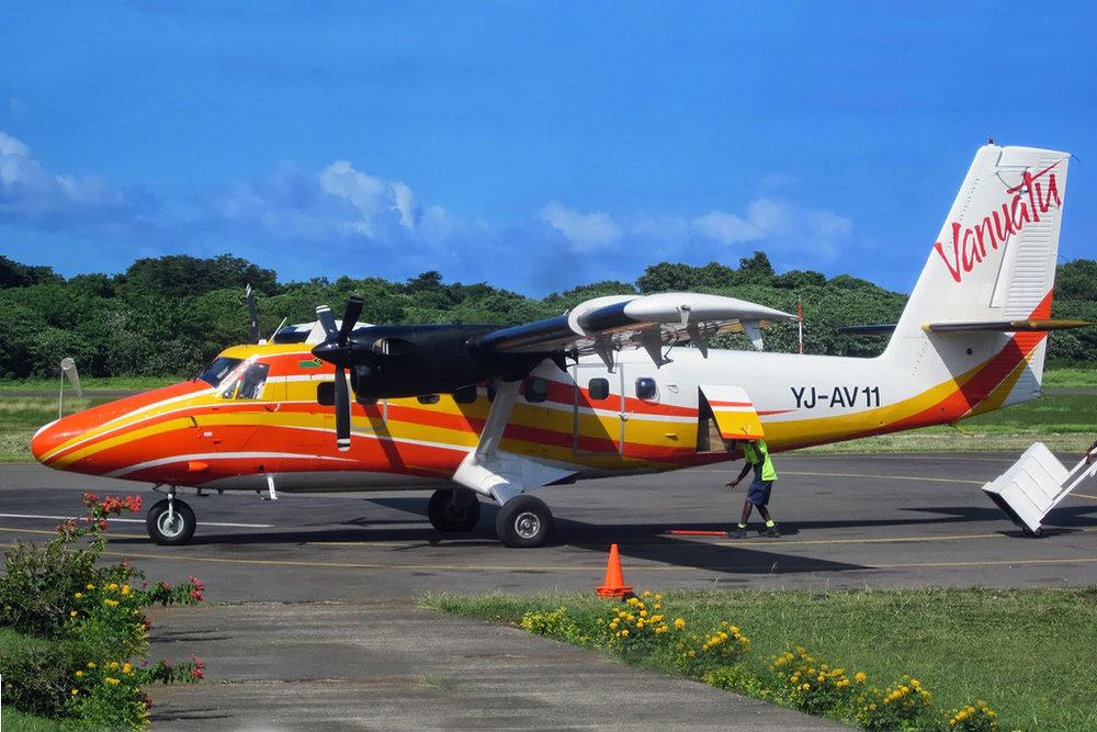 MSN 564 DHC-6-300 YJ-AV11 Air Vanuatu