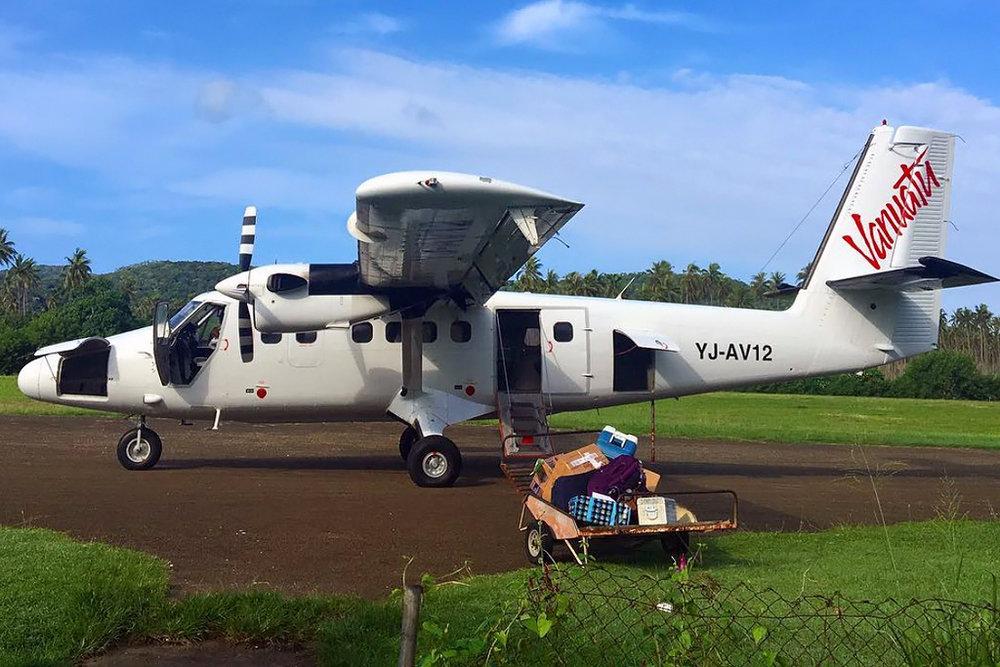 MSN 673 DHC-6-300 YJ-AV12 Air Vanuatu