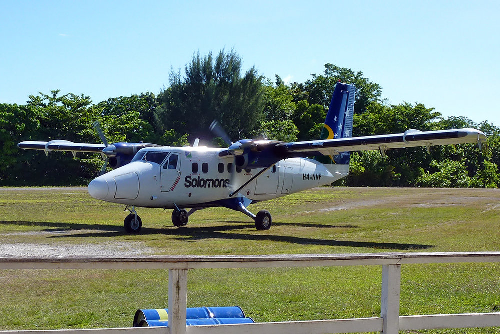 491 DHC-6-300 H4-NNP Solomon Airlines