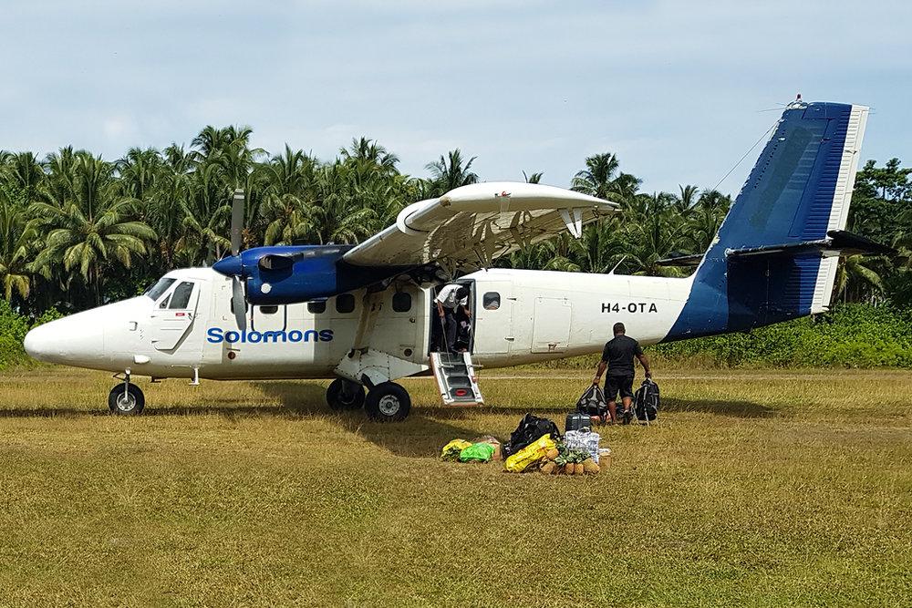 MSN 280 DHC-6-300 H4-OTA Solomon Airlines