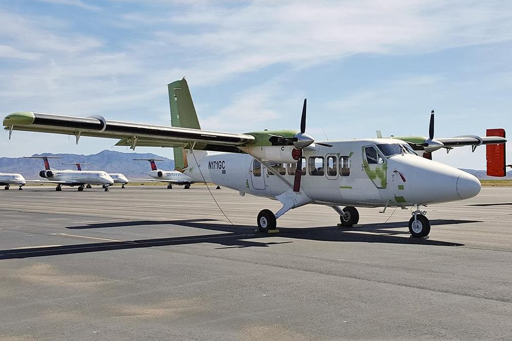 Canam Airframe Photo © Kingman, AZ