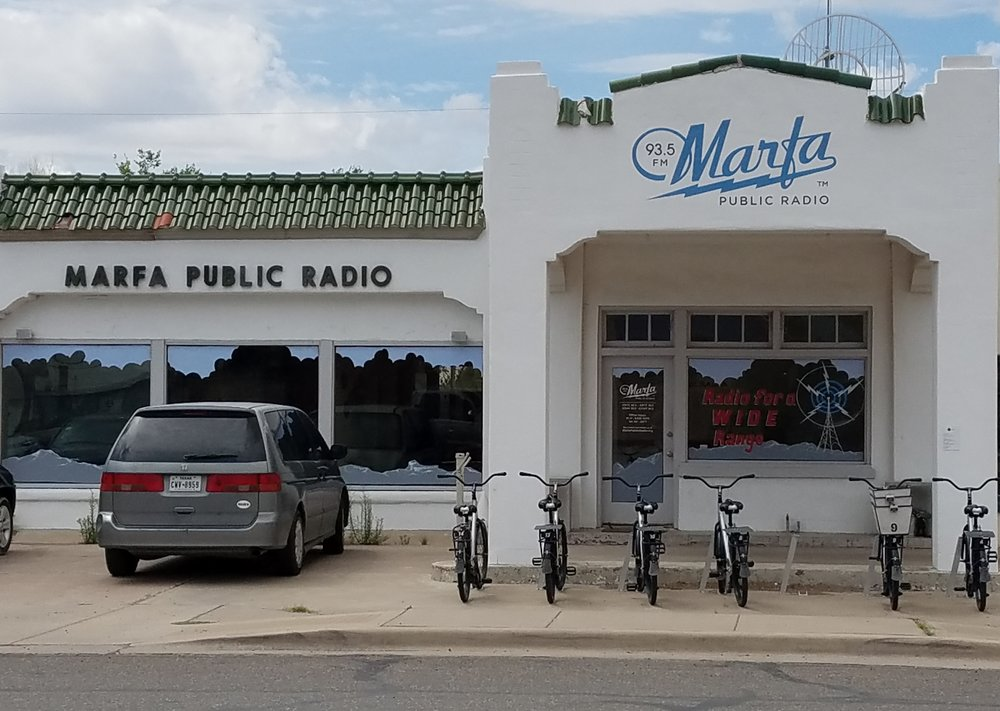 Marfa, Texas radio station.